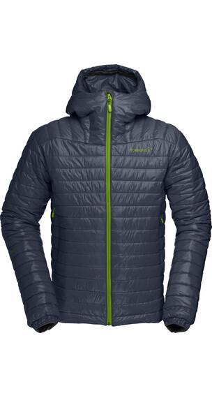 Norrøna M's Falketind PrimaLoft100 Hood Jacket Cool Black